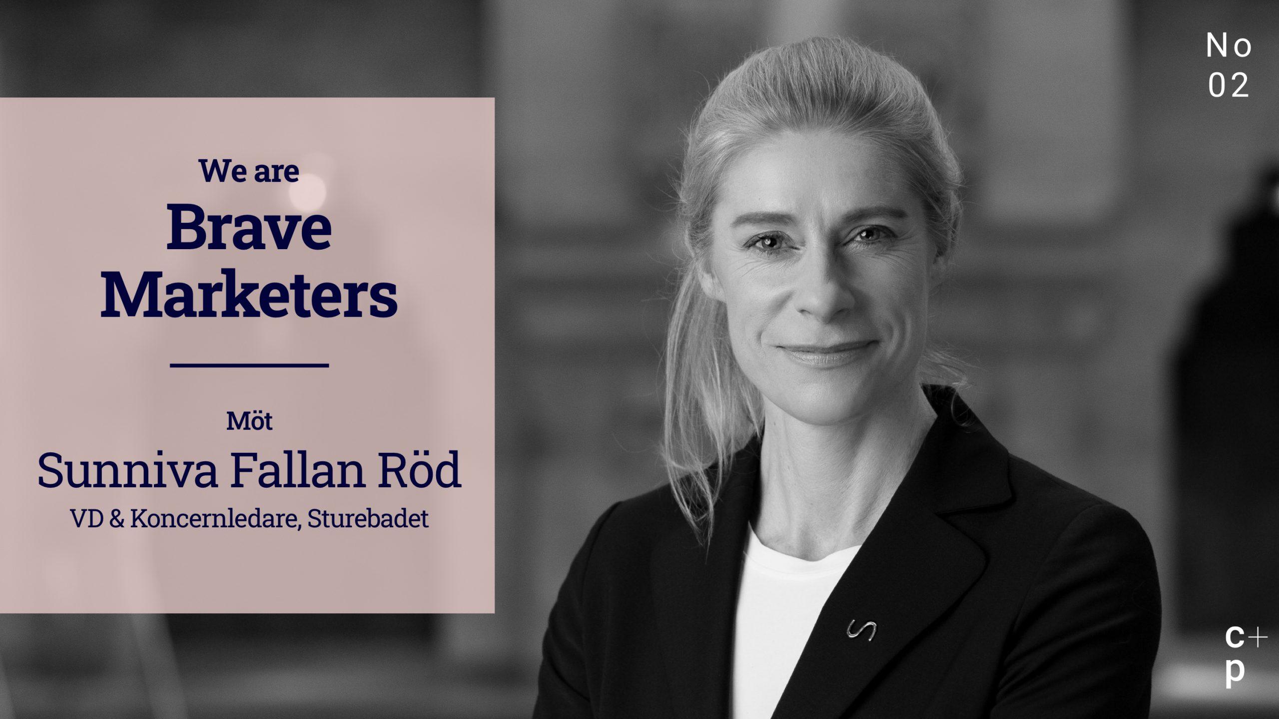 We are Brave Marketers - Sunniva Fallan Röd